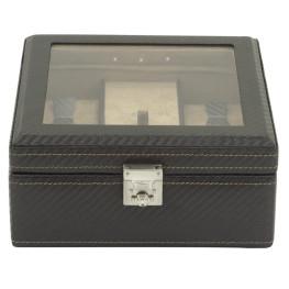 Friedrich I 23 Carbon óratartó doboz 5 db órához